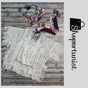 Tops - Crochet Top / Cover-up